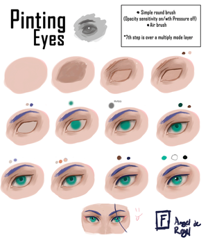 Painting Eyes by Angel-H