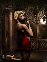The red rose by janedj