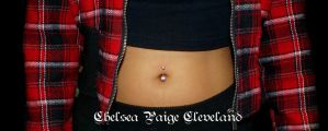 Belly button November 2014 by SmilinPirateTattoo