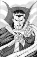 Dr. Strange Commission by martheus