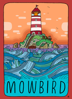 Mowbird Tour Poster by captainalec