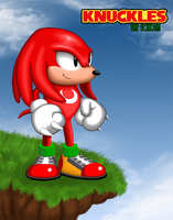 Knuckles HD by SillyJonna