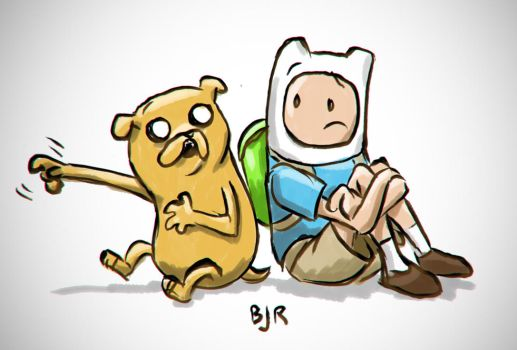 Finn and Jake by Mr-MegaTronic