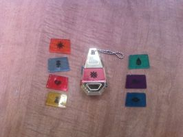 digimon tag and crests by emopunk68