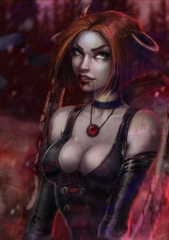 BloodRayne by Kate-FoX