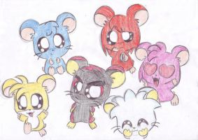 sonic hamsters by LeniProduction