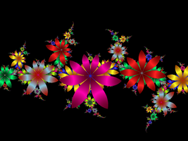 Fractal Flowers by 16stepper