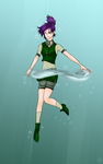 Iruka - Swimming with Bubbles by SoraRoxas-15