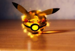 The Pokeball of Pikachu by Jonathanjo