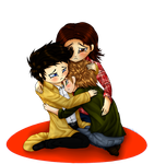 We're a Family .:SPN:. by Sammsy-Chan