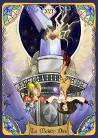 The Tower (Rising Breeze Tarots Project) by DarkRinoa88