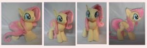 Fluttershy Plush by SillyBunnies