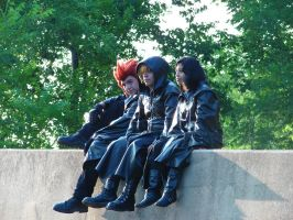 Twilight Town Trio by Kingdom-Cosplay-Pro