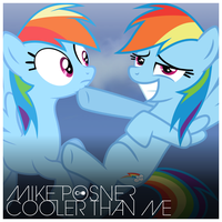 Mike Posner - Cooler Than Me (Rainbow Dash) by AdrianImpalaMata