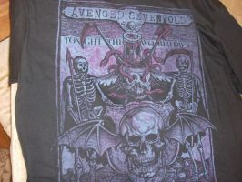 New Avenged Sevenfold T-shirt by A7XFan666