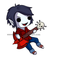 Chibi Marshall Lee by Fi3ndish
