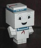 Stay Puft Cubee by paperart