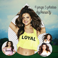 SELENAGOMEZPACK byPnarY. by Pn5Selly