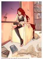 Commission - Sienna Hyde by redsama