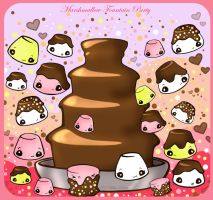 Chocolate Fountain Party by kickass-peanut