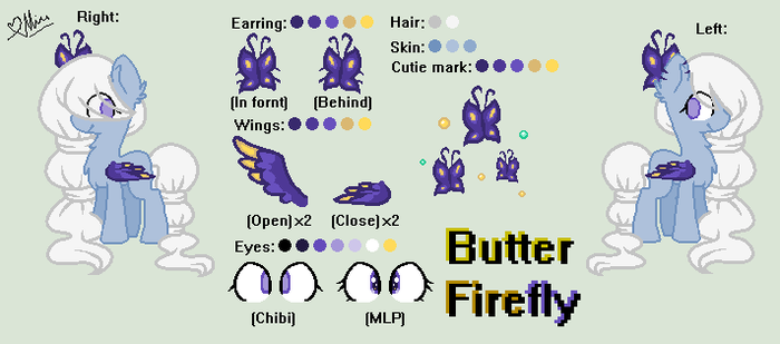 My OC: Butter Firefly by StarDarkMLP