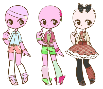 Customs :Batch 11: by LukasB-adopts