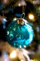 Bauble In Blue by LDFranklin