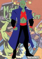 Martian Manhunter Vector by huatist