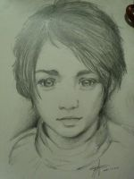 Arya Stark ~ Sketch by TheAleksDemon