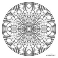 Mandala drawing 38 by Mandala-Jim