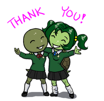 Thank you, from TMNT U by Pimpypants