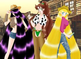 Cowgirls by Naggam