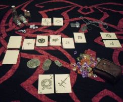 LARP-stuff: poker-set by dcsnijders