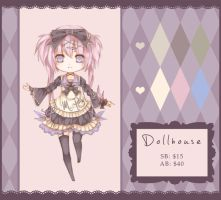 Dollhouse Adoptable 2 - Closed! by Nyanfood