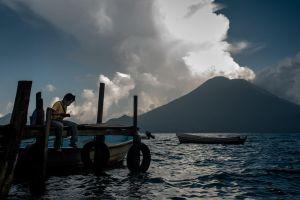 Fishing, Santa Cruz de la Laguna, Atitlan by SantiBilly