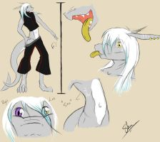Sho Ref Sheet by MelodiousDrago
