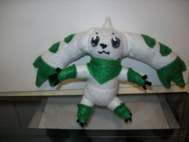 Terriermon Plushie by Vulpes-Canis