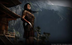 Lady of Mountains by Chrisworld2000