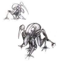 humanoid insect concept by tonka09
