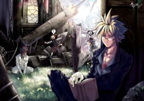Mafia Dissidia:In the church by khanshin