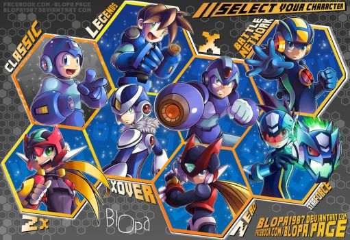 Select your character! by Blopa1987