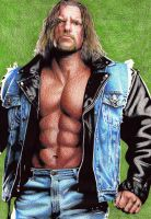 Triple H Leather Jacket by tyller16