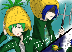 6926 - Pineapple Combination by hikarimaeda