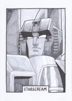 AA13 Sketch - Starscream by Kingoji