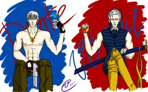+_Sparda Brothers_+ by red-eye-girl