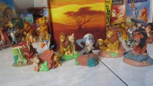 TLK collection: Disney Store figurines by kary218