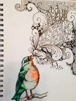 Sparrow by AnnabethApril