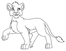 Misc. Cub Lineart by sailorharmony2000