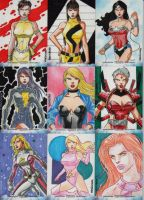 DC The Women of Legend set 6 by wardogs101