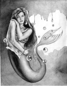 Mermaid by 5antiago